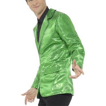 Sequin Jacket - Green