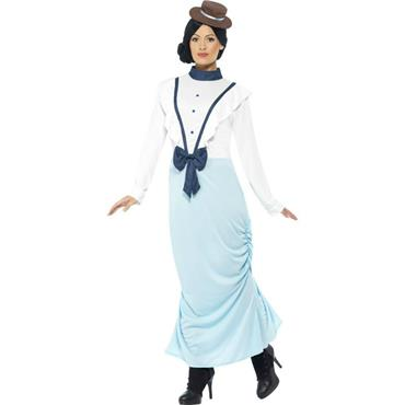 Posh Victorian Lady Costume