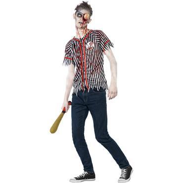 Zombie Baseball Player Costume