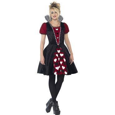 Deluxe Dark Red Queen Costume
