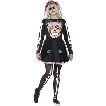 Sugar Skull Sweetie Costume