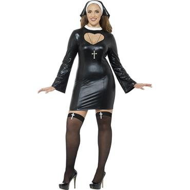 Curves Nun Costume