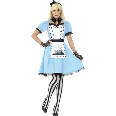 Deluxe Dark Tea Party Costume - Alice in Wonderland