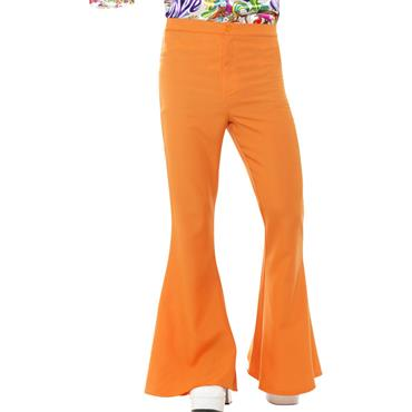 Flared Trousers - Orange