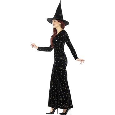 Deluxe Black Magic Ouija Witch Costume