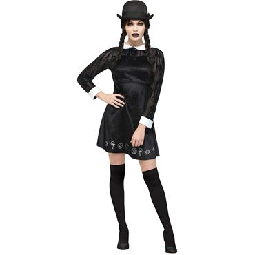 Fever Deluxe Gotchic School Girl Costume - Adams Family