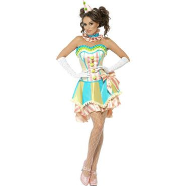 Fever Boutique Vintage Clown Costume