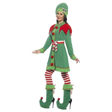 Deluxe Miss Elf Costume