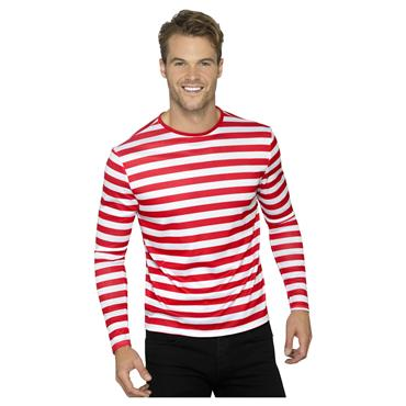 Stripy T Shirt - Red - Where's Wally