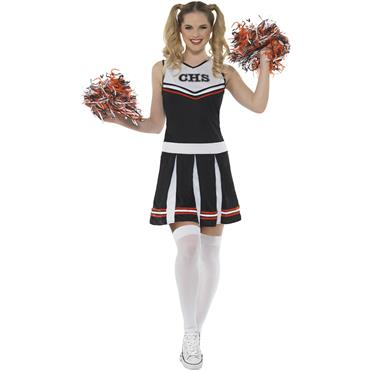Cheerleader Costume - Black