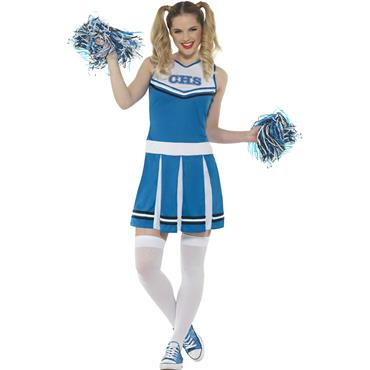 Cheerleader Costume - Blue