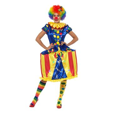 Deluxe Light Up Carousel Clown Costume
