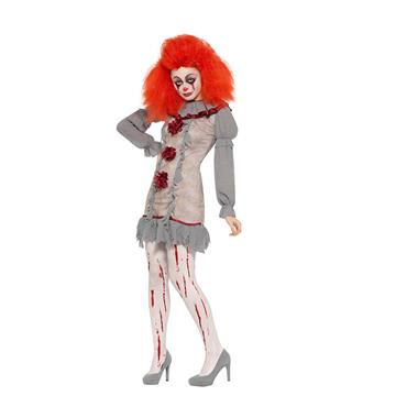 Vintage Clown Lady Costume - IT