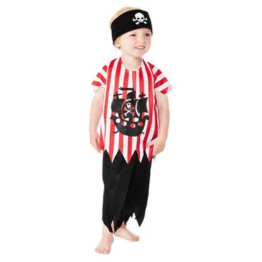 Toddler Jolly Rotten Pirate Costume