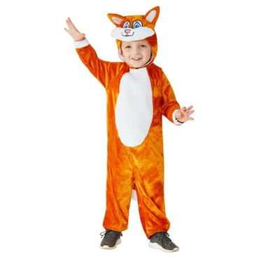 Orange Cat Toddler Costume
