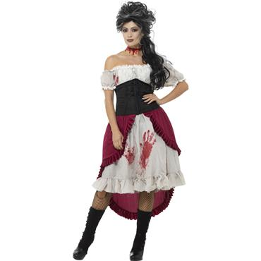 Victorian Victim Costume