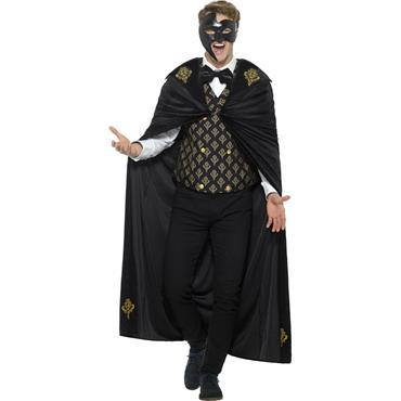 Deluxe Phantom Masquerade Costume