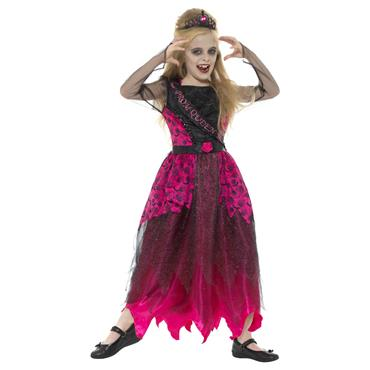 Deluxe Gothic Prom Queen Costume