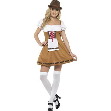 Bavarian Beer Maid Costume