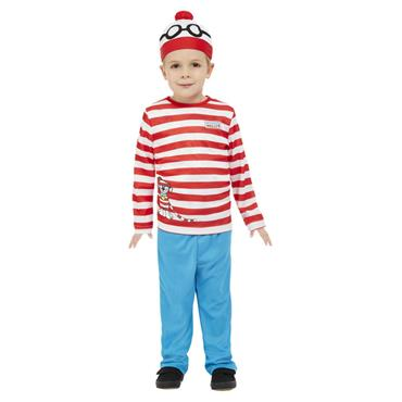 Wheres Wally Toddler Costume