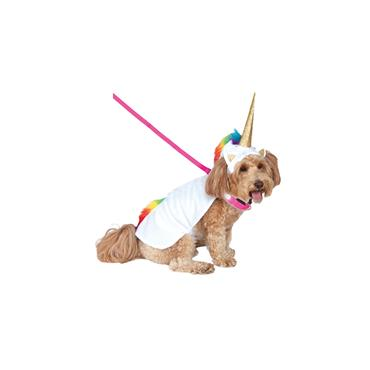 Unicorn Cape w/hood Pet Costume
