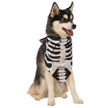 Skeleton Bandana Pet Costume