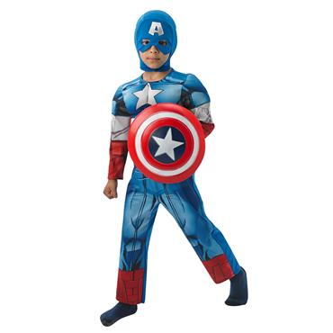 Deluxe Captain America Costume (Child)