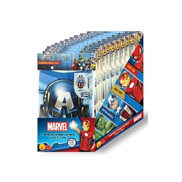 Marvel Character Dress Up Sets (Captain America, Hulk, Spiderman & Iron Man)