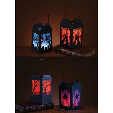 Pop-Open Lantern Silhouette