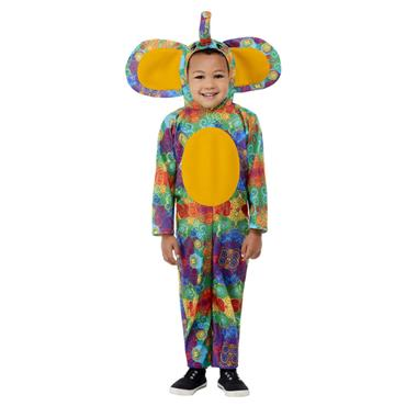 Colourful Elephant Toddler Costume