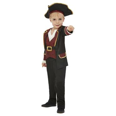 Toddler Swashbuckler Pirate Boy Costume