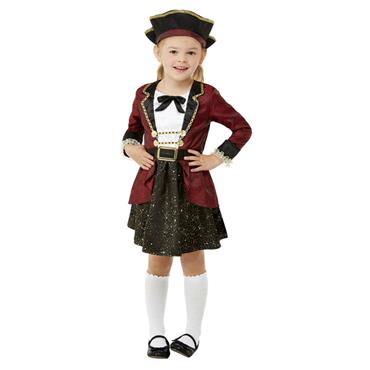 Toddler Swashbuckler Pirate Girl Costume