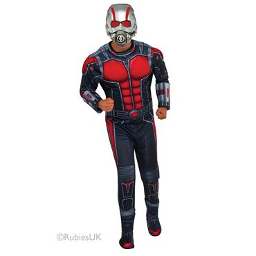 Marvel Antman Deluxe Costume