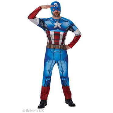 Marvel Captain America Deluxe Costume