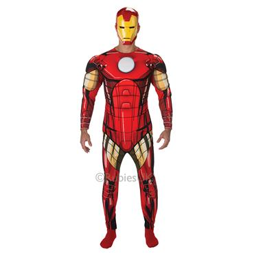 Marvel Iron Man Deluxe Costume