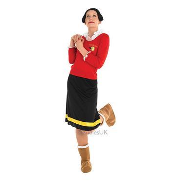 Olive Oyl - Popeye Costume