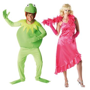 Miss Piggy & Kermit Couples Costume