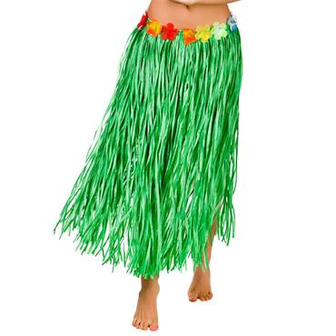 Hawaiian Hula Skirt - Green