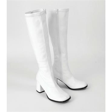 Womens High Boots - White