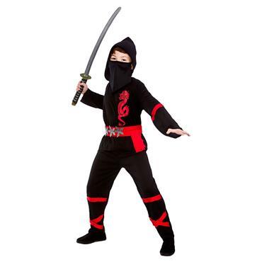 Power Ninja - Black Costume