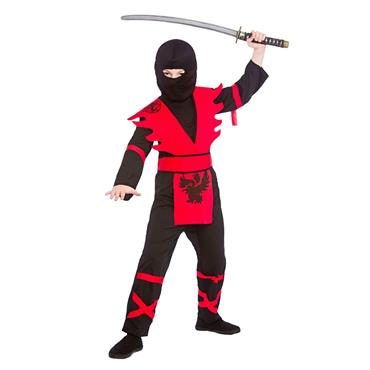 Ninja Assassin - Black/Red Costume