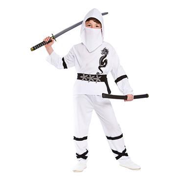 Power Ninja White Costume
