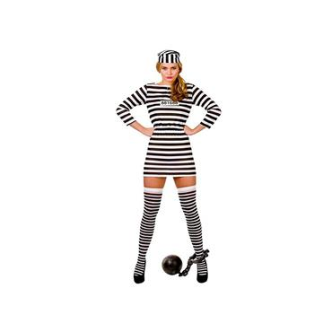 Jailbird Cutie -Budget Costume