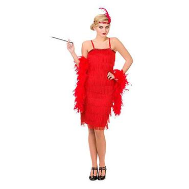 Jazzy Flapper-Red Costume