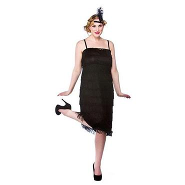 Jazzy Flapper-Black Costume