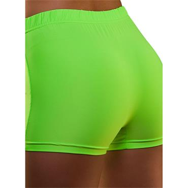 80's Neon Hot Pants - Green
