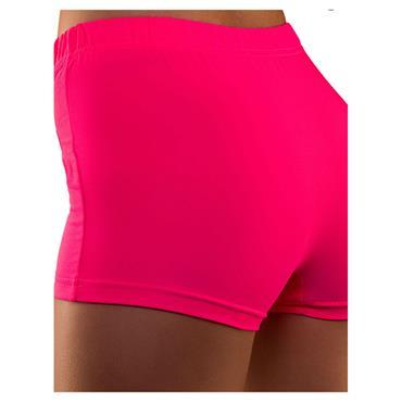 80's Neon Hot Pants - Pink