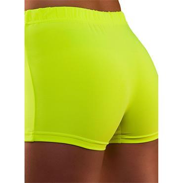 80's Neon Hot Pants - Yellow