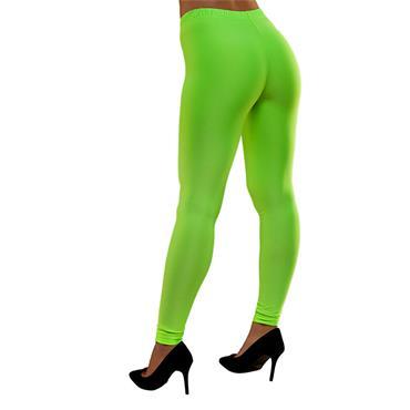 80's Neon Leggings - Green