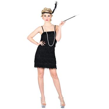 Showtime Flapper Girl - Black
